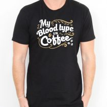 Coffee Blood Type Men's T-shirts
