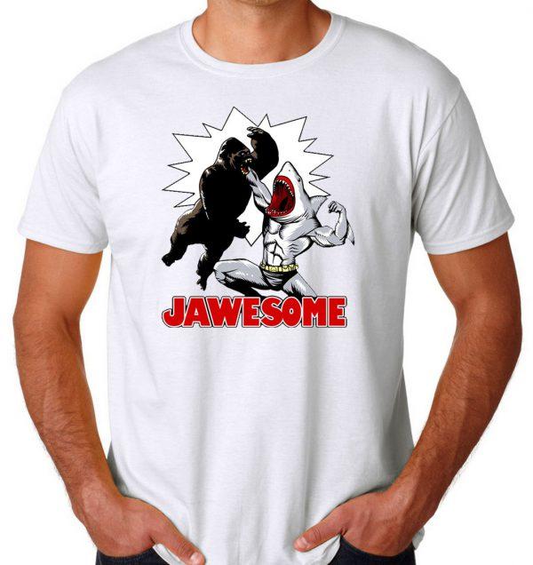 Jawsome vs Gorilla Men's T-shirts
