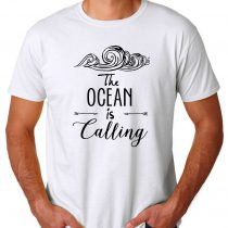 Ocean Is Calling Men's T-shirts