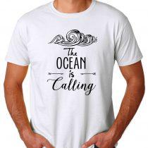 Ocean Is Calling Men's T-shirts