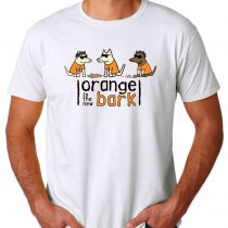 Orange Is The New Bark Men's T-shirts