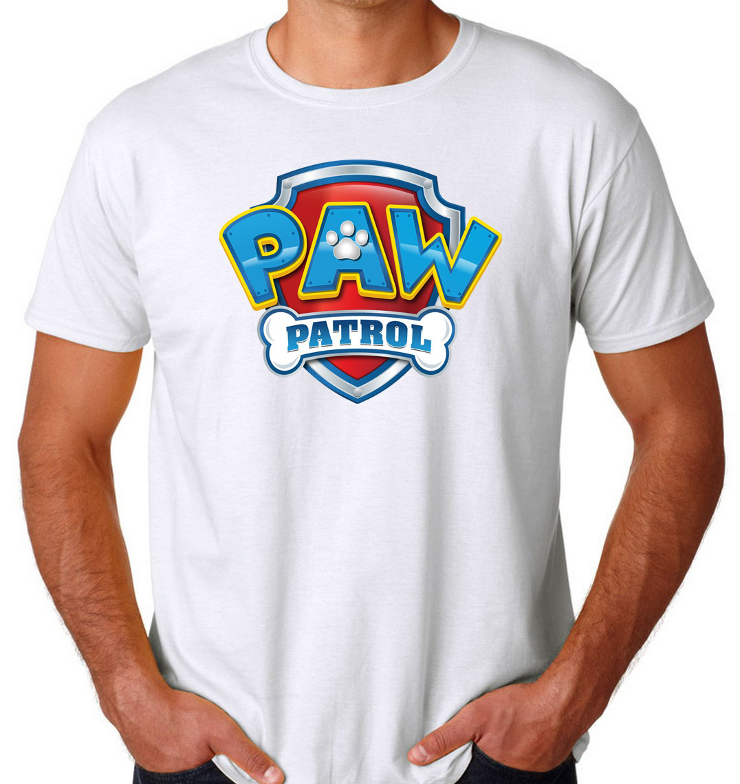 official sale luxuriant in design big selection of 2019 PAW Patrol Logo Men's T-shirts