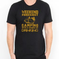 Weekend Forecast Mens Womens Adult T-shirts