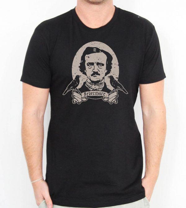Edgar Allan Poe Nevermore Men's T-shirts