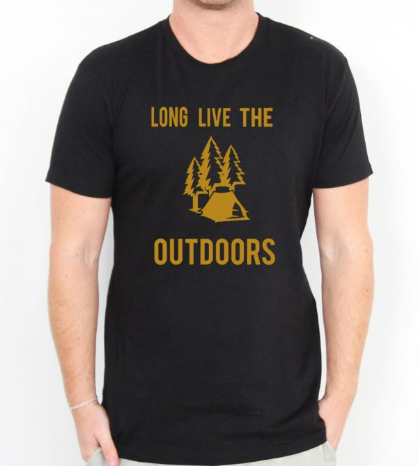 Love For The Outdoors Camping Men's T-shirts