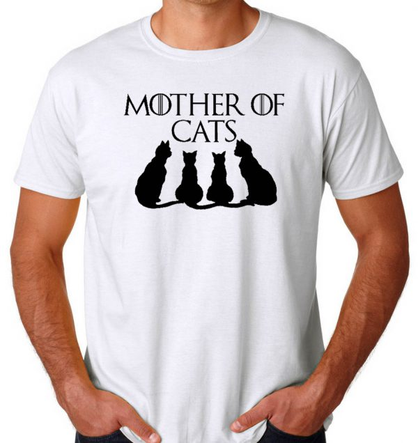 Mother Of Cats Men's T-shirts