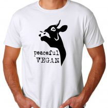 Vegan For Animal Rights Men's T-shirts