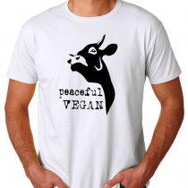 Vegan For Animal Rights Men's T-shirts