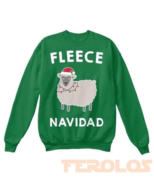 Fleece Navidad Sweatshirt