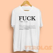 Fuck Faak Verb Definition Mens Womens Adult T-shirts