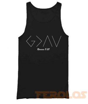 God is Greater than the Highs Mens Womens Adult Tank Tops