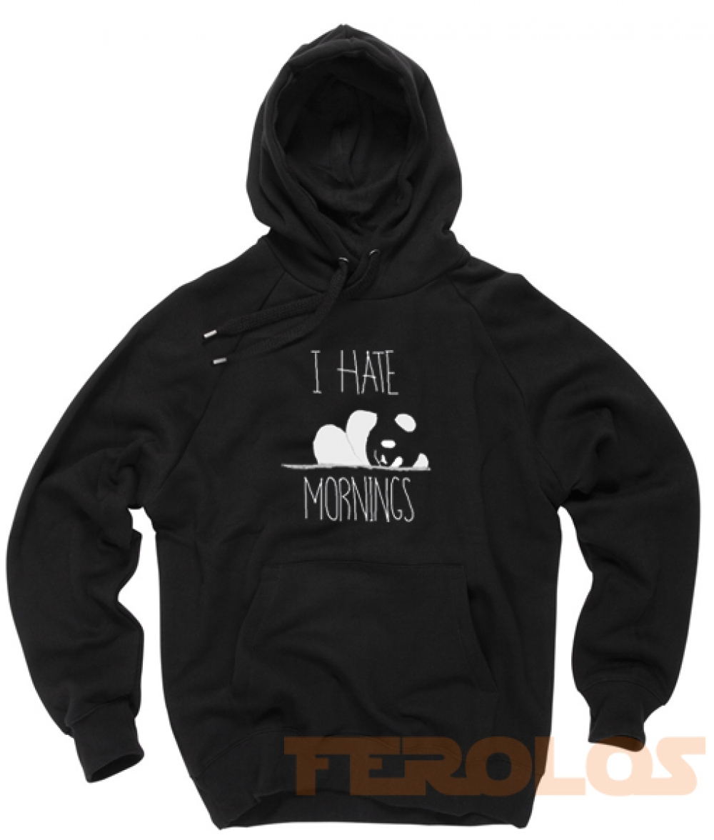 I Hate Morning Unisex Adult Hoodies
