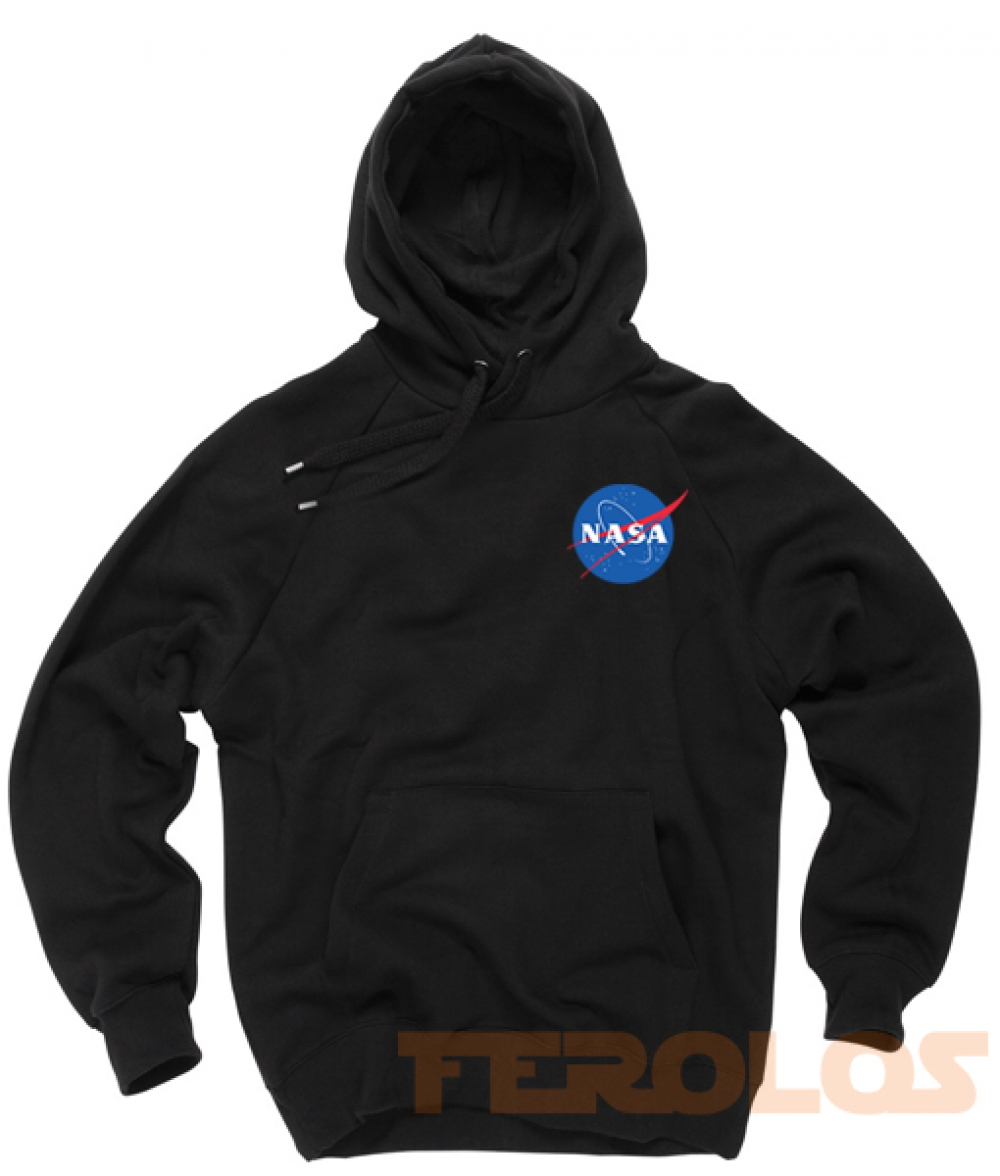Nasa Pocket Unisex Adult Hoodies Pull Over
