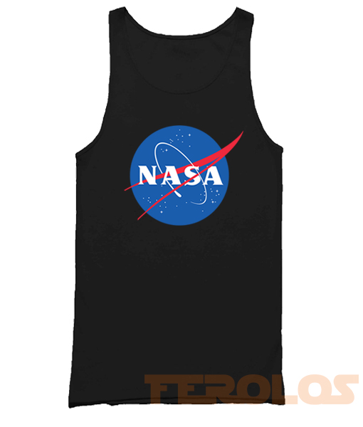 Nasa Symbol Mens Womens Adult Tank Tops