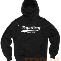 Papa Bear 2016 Unisex Adult Hoodies Pull Over