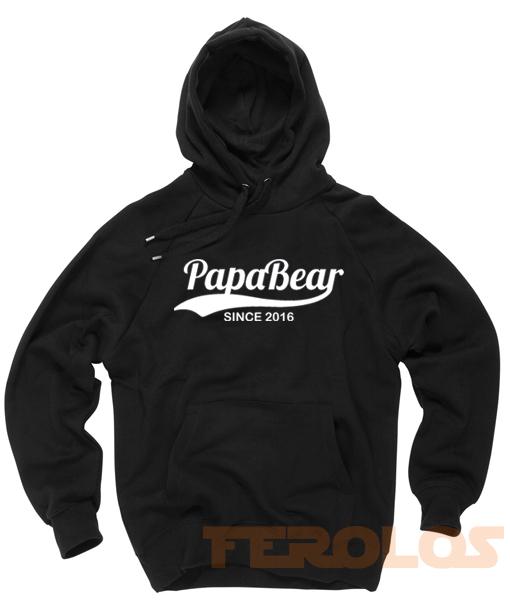 Papa Bear 2016 Unisex Adult Hoodies Pull Over
