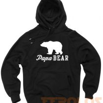Papa Bear Unisex Adult Hoodies Pull Over