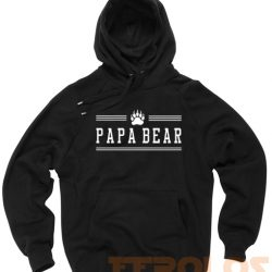 Papa Bear Paw Unisex Adult Hoodies Pull Over