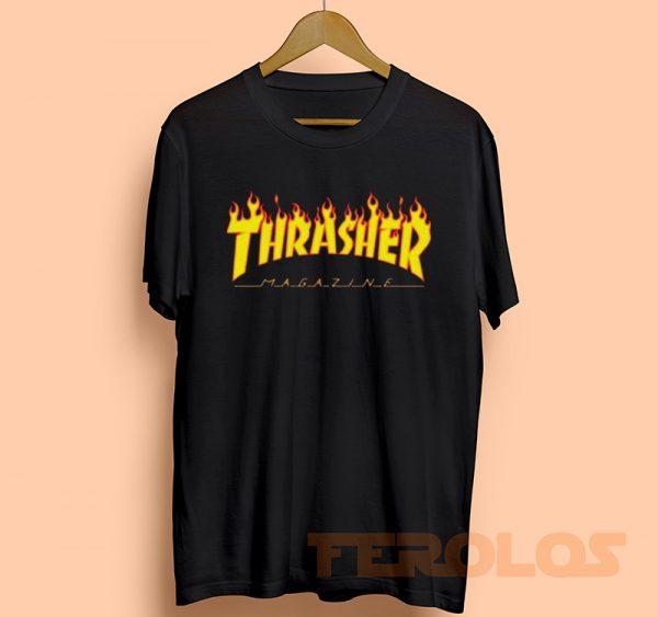 Thrasher Magazine Mens Womens Adult T-shirts