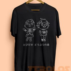 Animal Crossing Nintendo Video Games Mens Womens Adult T-shirts