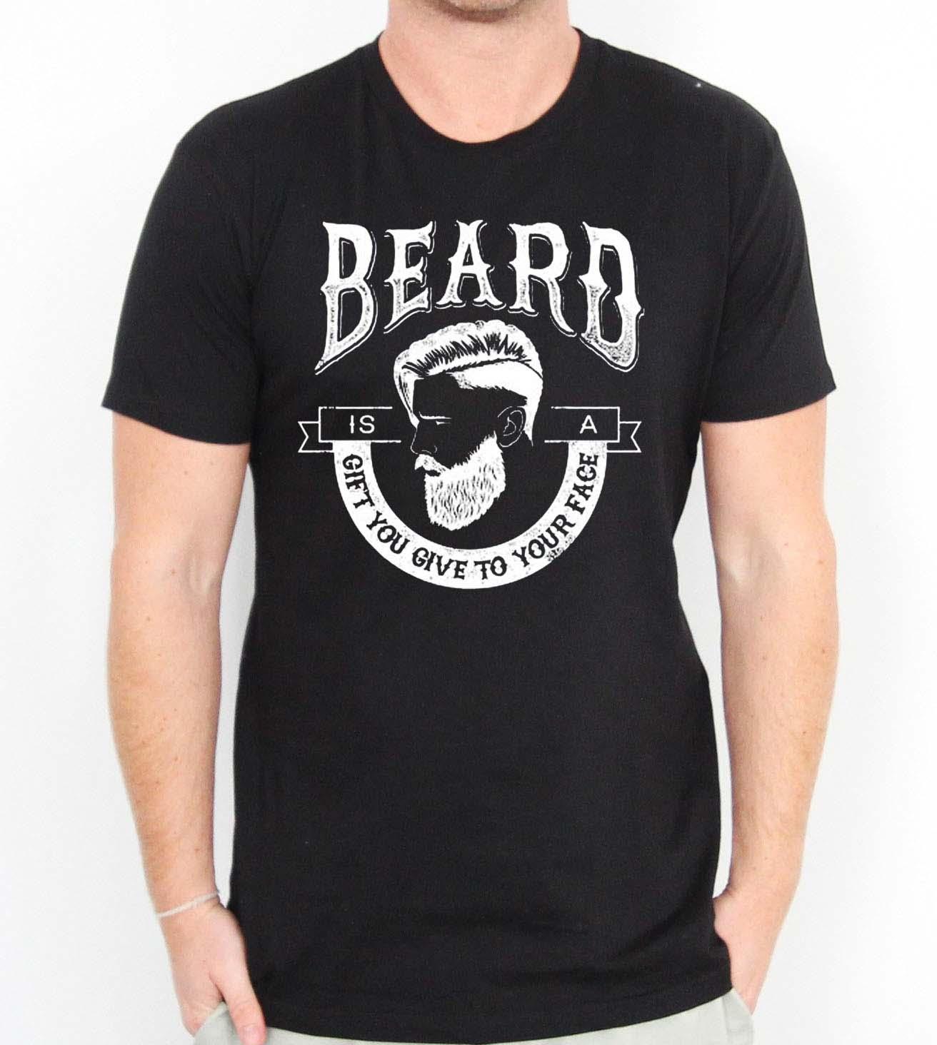 Beard The Gift U Give Retro