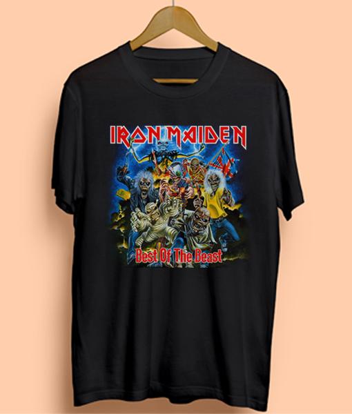 26c57ba5 Iron Maiden Best Beast Vintage Cheap T Shirt - Ferolos.com