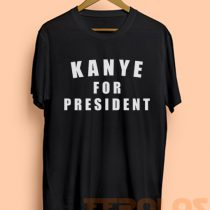 Kanye West For President 2016 Mens Womens Adult T-shirts
