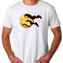 Moon Halloween Mens Womens Adult T-shirts