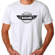 Buy Old School Garage Cheap T Shirt