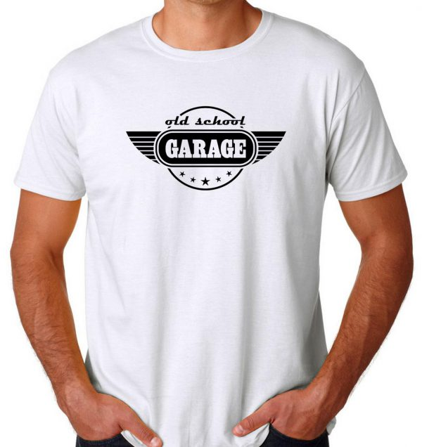 Buy Old School Garage Cheap T Shirt