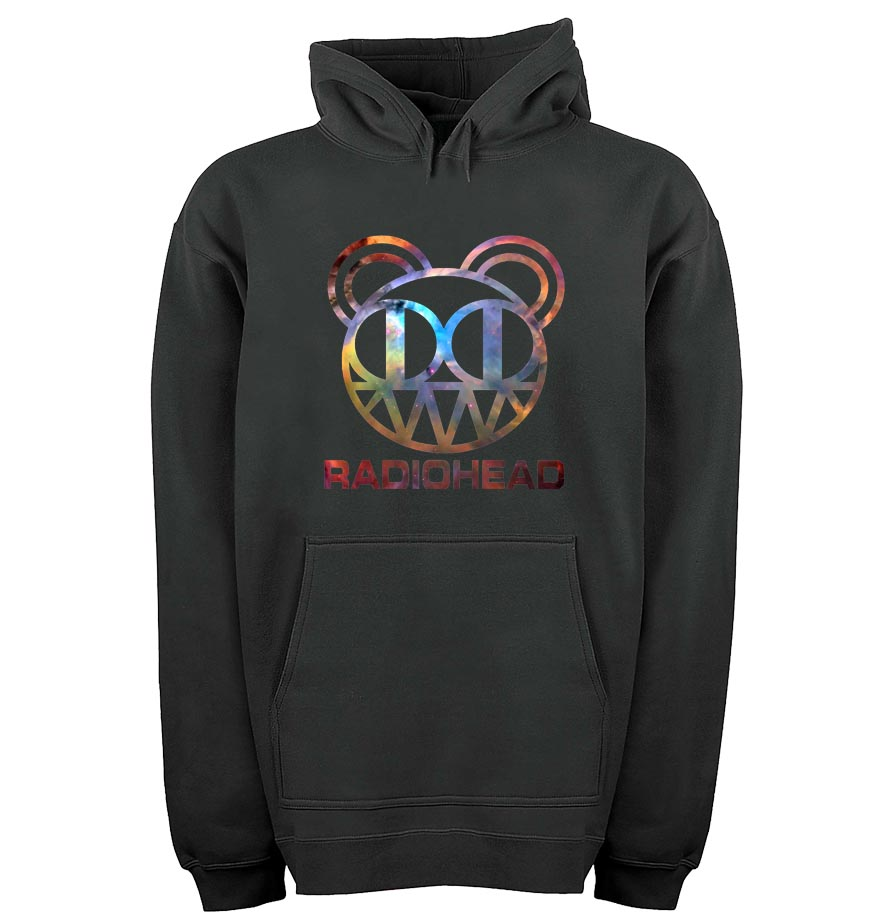 Radiohead custom galaxy logohoodie pull over tee shirts for Custom t shirts and hoodies