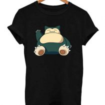 Snorlax Pokemon Funny T Shirt
