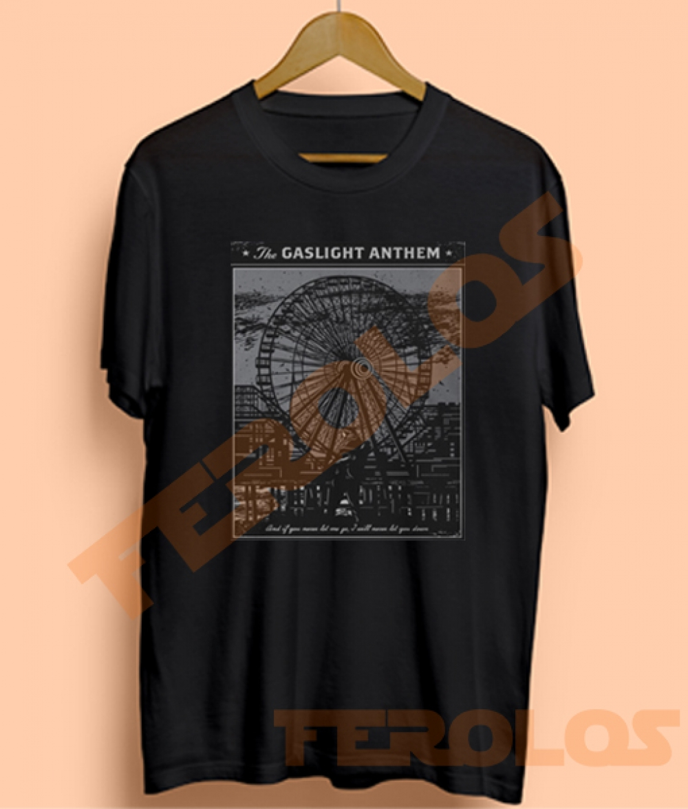 The Gaslight Anthem El Jefe Print Mens Womens Adult T-shirts
