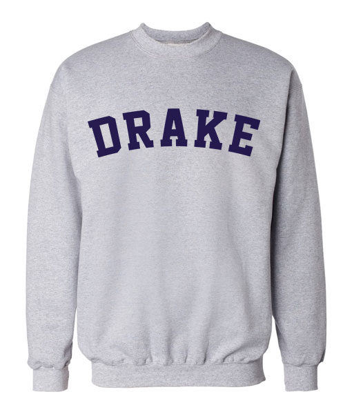 Art Drake Typography Sweatshirts