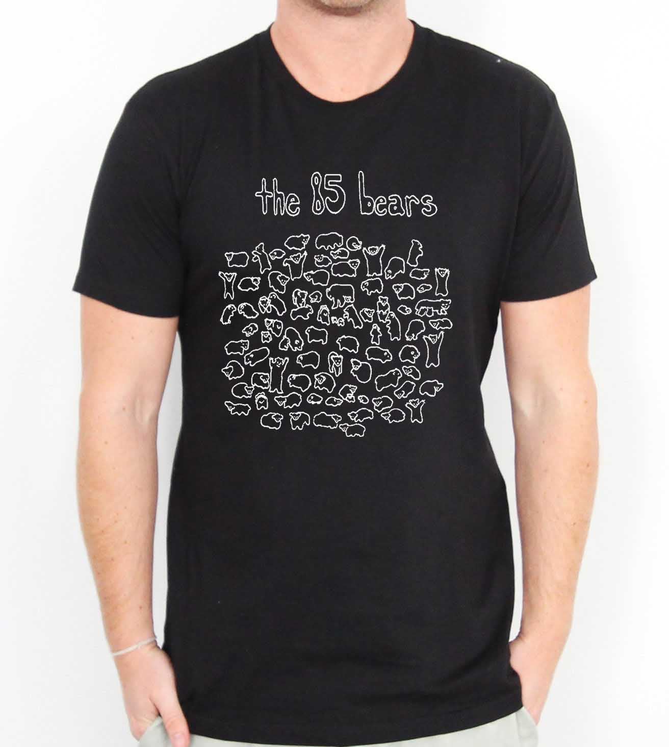 The 85 bears mens womens adult t shirts tee shirts for Bear river workwear shirts