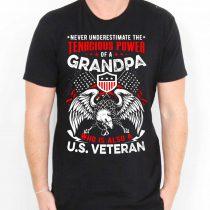 Buy Veteran For Grandpa Cheap T Shirt