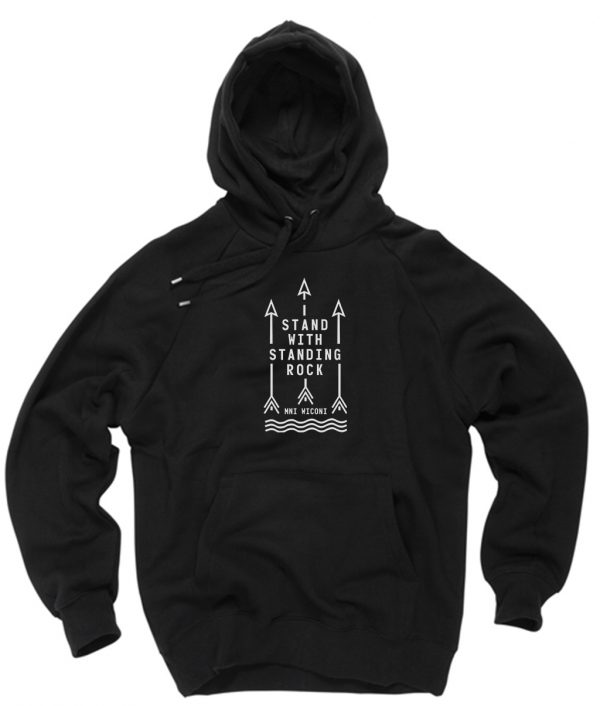 Stand with Standing Rock Hoodies Pull Over