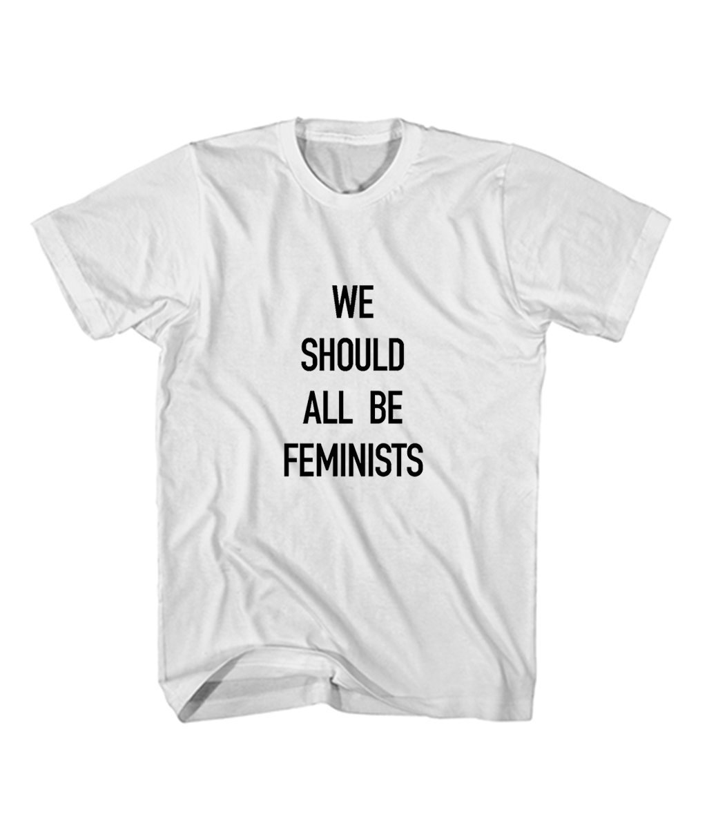We Should All Be Feminists Quote Dior T Shirt Feroloscom