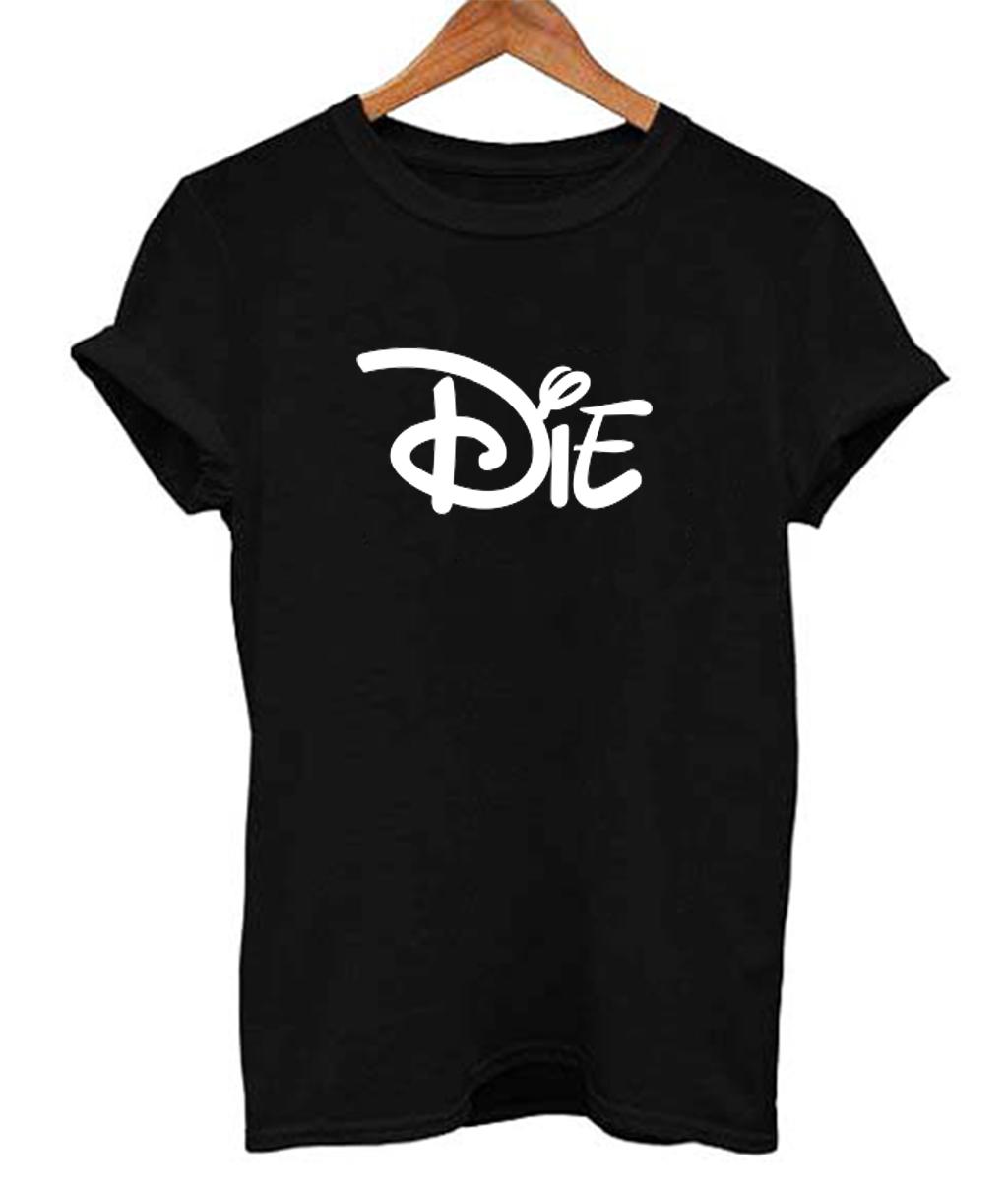 Die Cartoon Movies Funny Men's Women's T Shirt