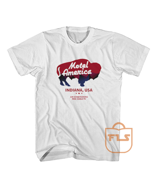 Motel America Home Gods White T Shirt