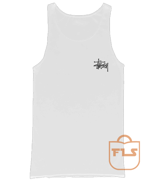 Stussy Signature Pocket Men's Women's Tank Tops