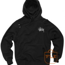 Stussy Signature Pocket Unisex Pullover Hoodies