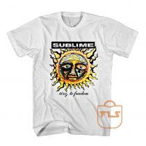 Sublime 40oz to Freedom Vintage T Shirt