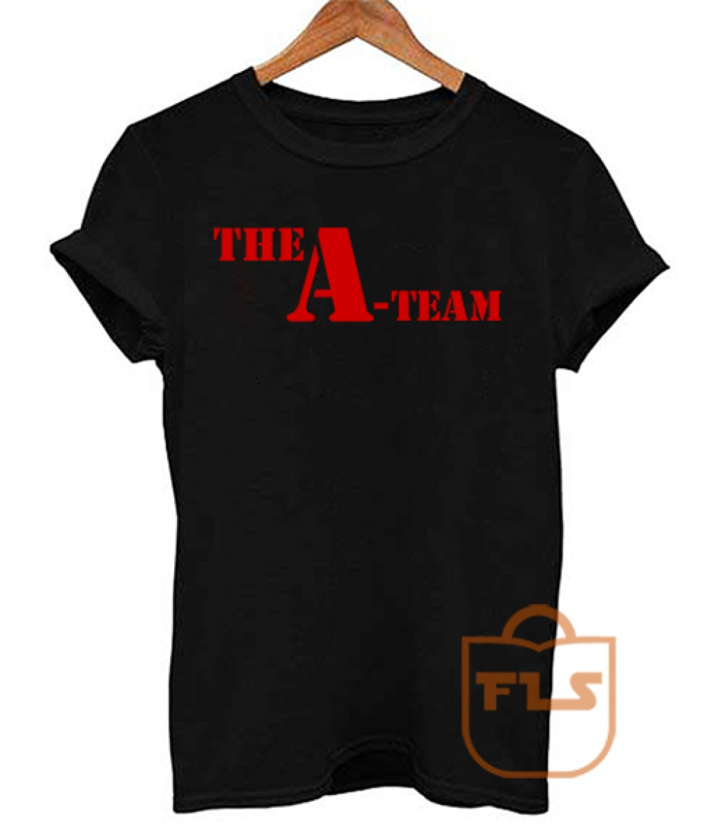 The A-TEAM Vintage Funny T Shirt