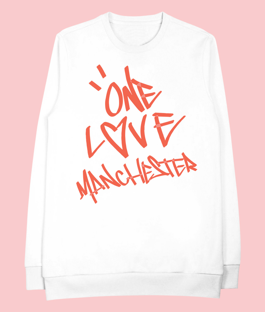 Ariana Grande's One Love Manchester Concert Sweatshirts