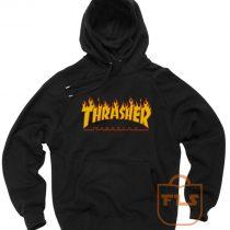Thrasher Magazine Fire Unisex Pullover Hoodies