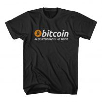 Bitcoin in Cryptigraphy We Trust Cheap Tees