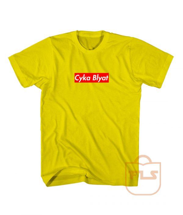 Cyka Blyat Supreme Style Shirts