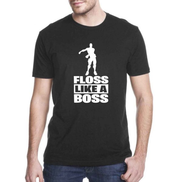 Fortnite Battle Royale floss like a boss Cheap Tee Shirts