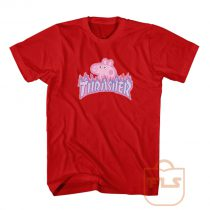Peppa Pig Thrasher Parody Tee Shirt